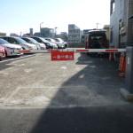月極駐車場用カーゲート設置