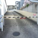 横浜市内カーゲート設置駐車場