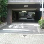 マンション駐車場リモコンカーゲート